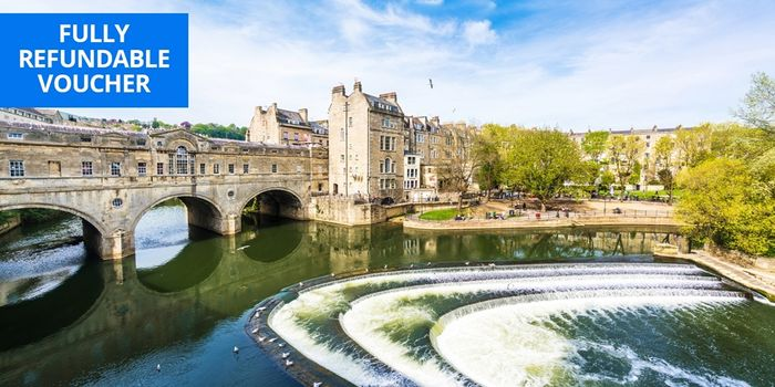 BATH £99 Overnight Bath City-Centre Stay W/bubbly & Breakfast