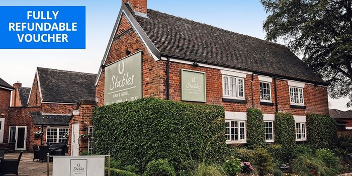 £59 Cheshire Country House Escapew/breakfast Manor House Hotel