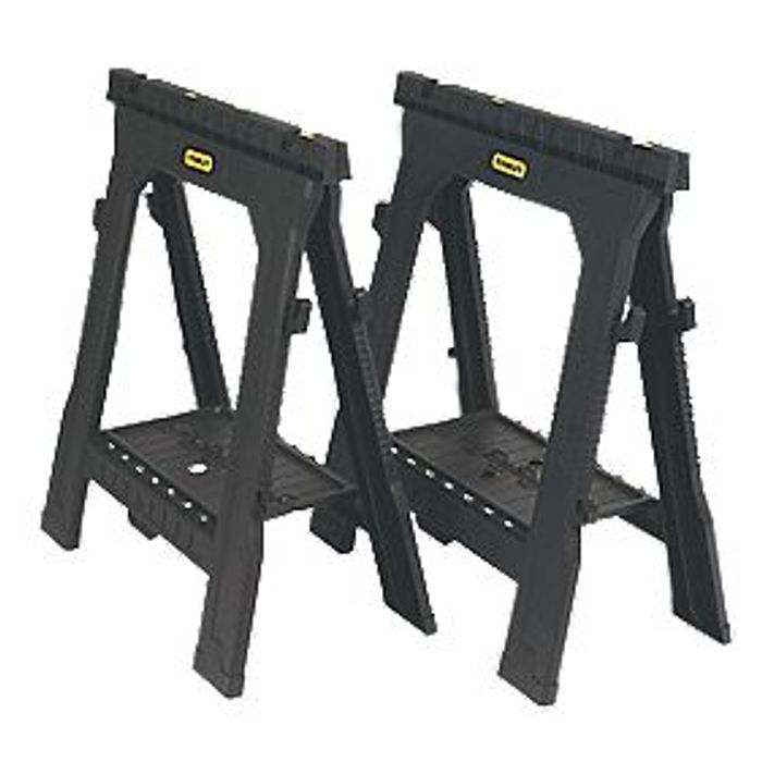 Stanley v Groove Folding Horses - Twin Pack
