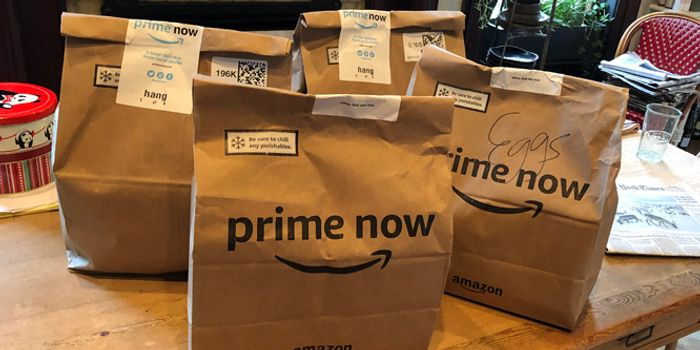 Amazon Prime Now - £10 Off £50 Morrisons Groceries