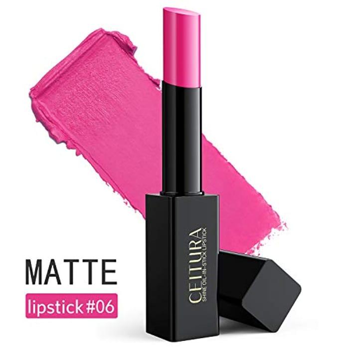 Price Drop! CEITURA Bright Fuschia Matte Lipstick