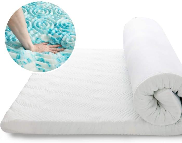 Bedsure Memory Foam Mattress Topper Single Bed 90x190cm £35.99