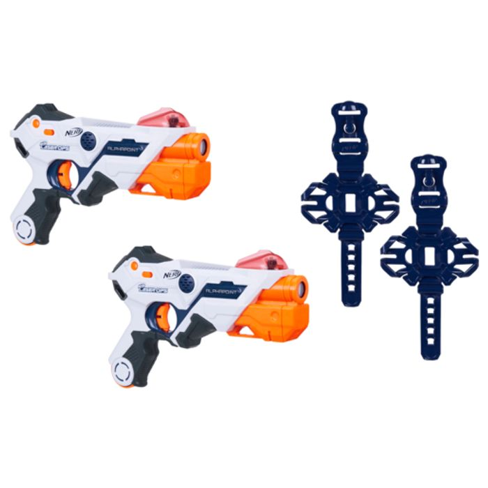 Nerf Laser Ops Pro Alpha Point - 2 Pack Only £14.99