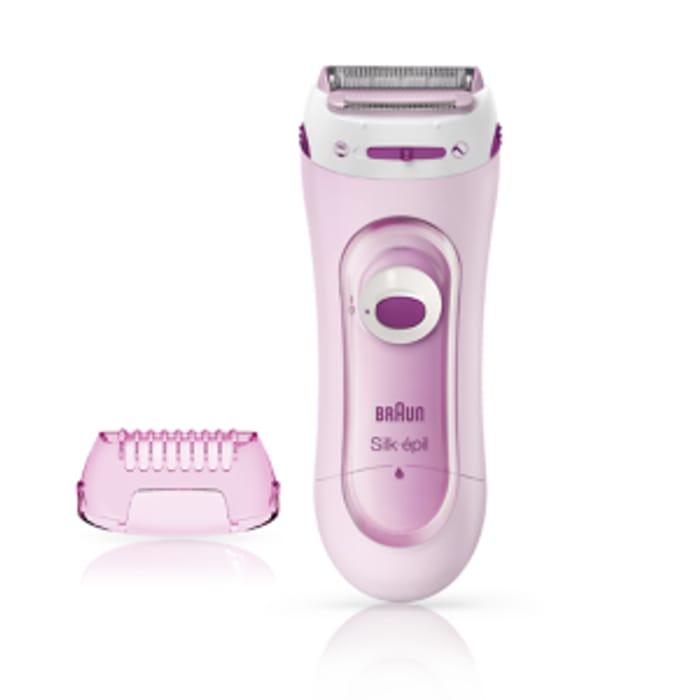 Braun Silk-Pil Lady Shaver 5-100 Pink + Free C&C