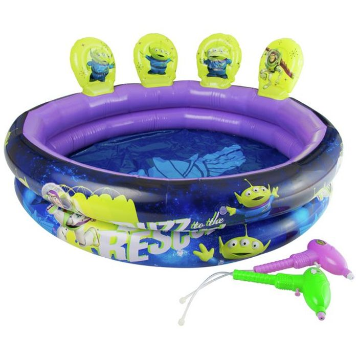Toy Story 3ft Kids Paddling Pool with Water Guns - 230L