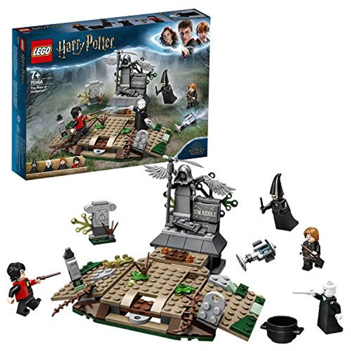 LEGO 75965 Harry Potter and the Goblet of Fire the Rise of Voldemort