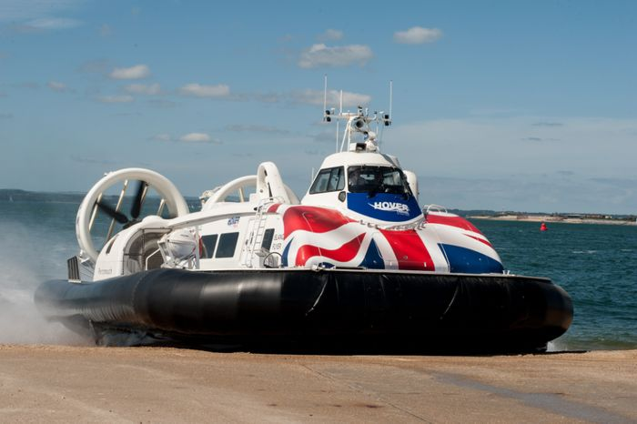 30% off Two Adults Hovercraft Flight to the Isle of Wight with Hovertravel