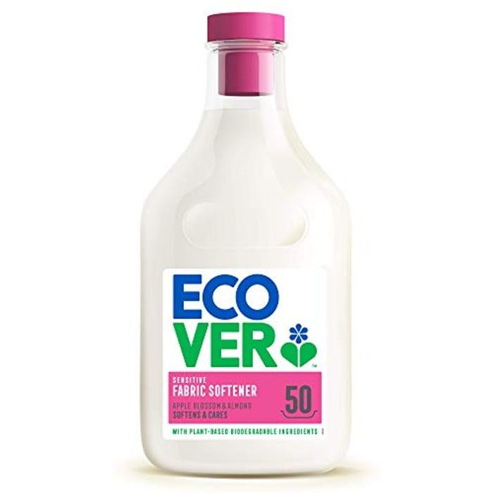 Ecover Fabric Softener Apple Blossom & Almond, 50 Wash