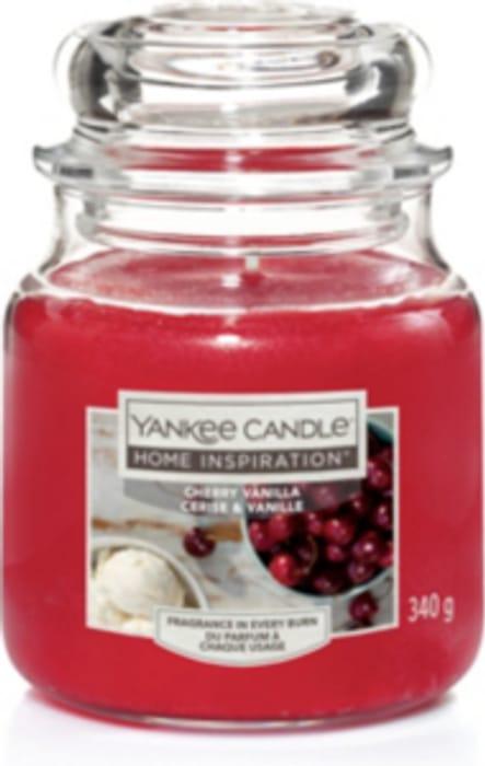 Yankee Candle Home Inspirations Cherry Vanila Med Jar