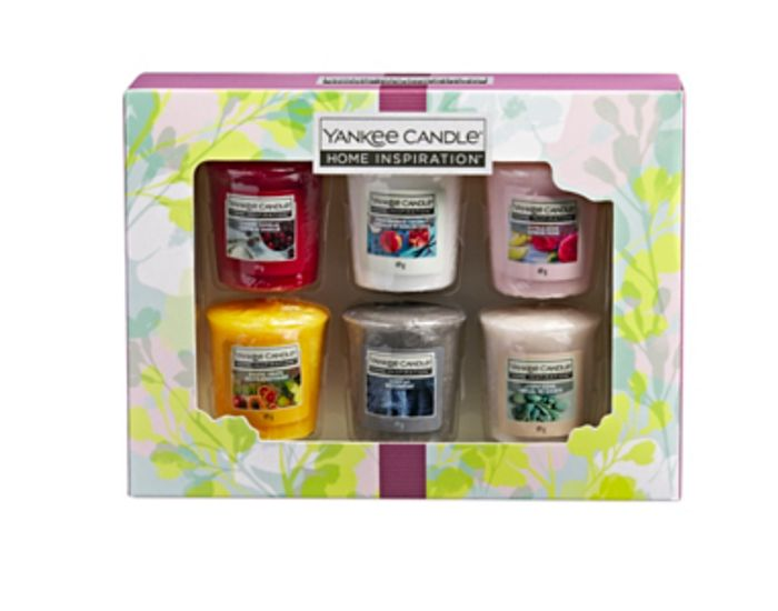 Yankee Candle Home Inspiration Gift Set 6 Votive