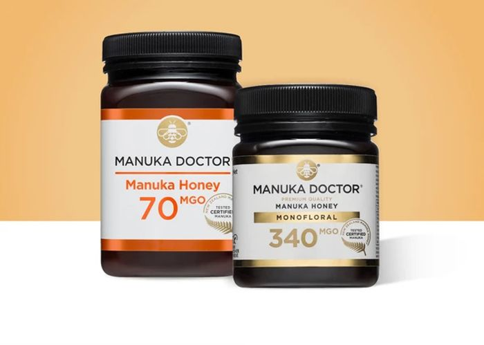 £12 off Orders over £100 at Manuka Doctor