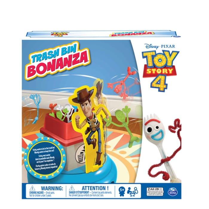 Disney Pixar Toy Story 4 Trash Bin Bonanza