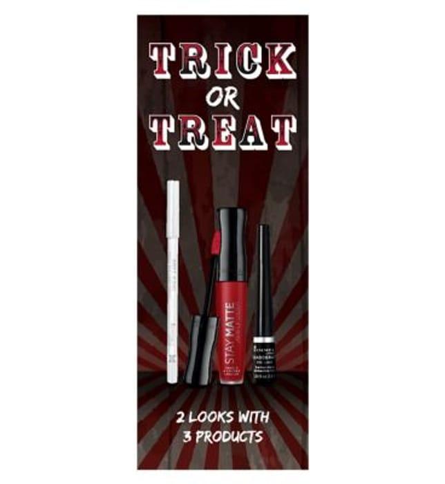 Rimmel London Trick or Treat Makeup Kit STOCK COMING SOON