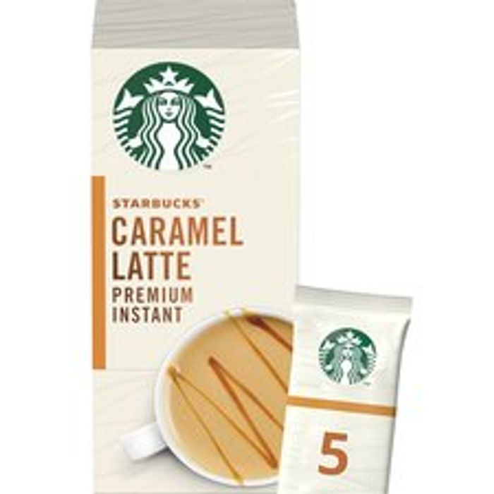 Starbucks Caramel Latte Premium Instant Sachets 5X21.5G