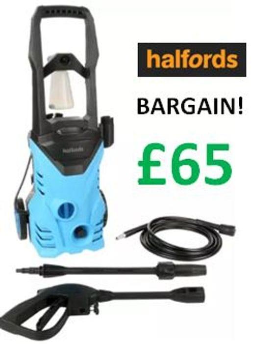 Halfords PW20 Pressure Washer 1600W