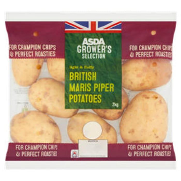 ASDA Grower's Selection British Maris Piper Potatoes