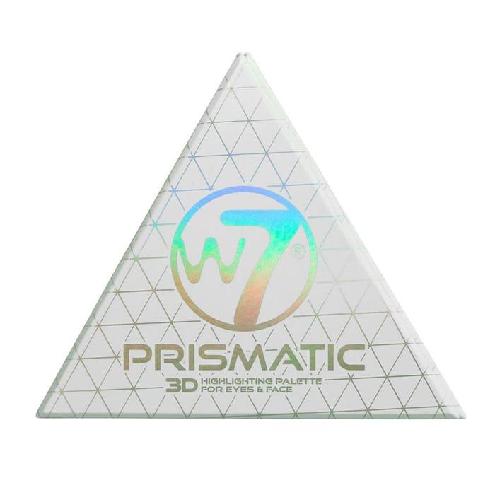 W7 Prismatic 3D Highlighting Palette for Face & Eyes