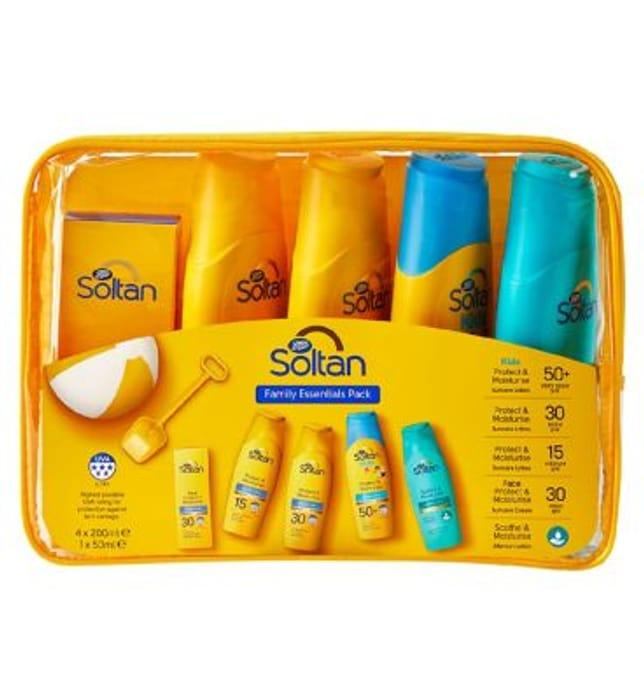 Soltan Essentials Family 5 Item Pack , 1/2 Price