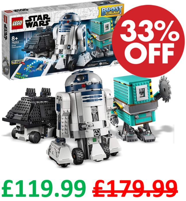 SAVE £60! LEGO Star Wars BOOST Droid Commander (75253)