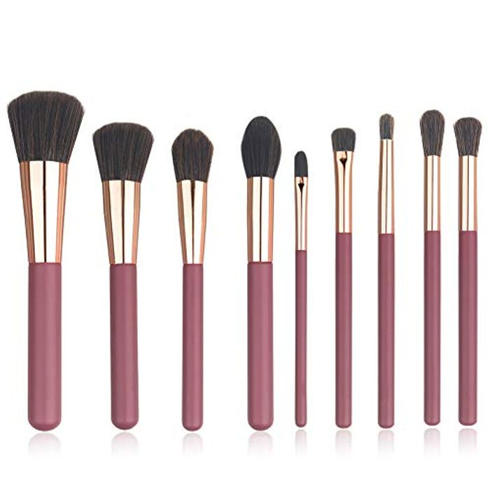 Half Price- Synthetic Makeup Brushes 9 PCS Set