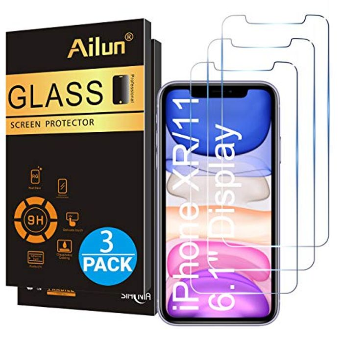 Ailun Glass Screen Protector for iPhone 11 and iPhone XR