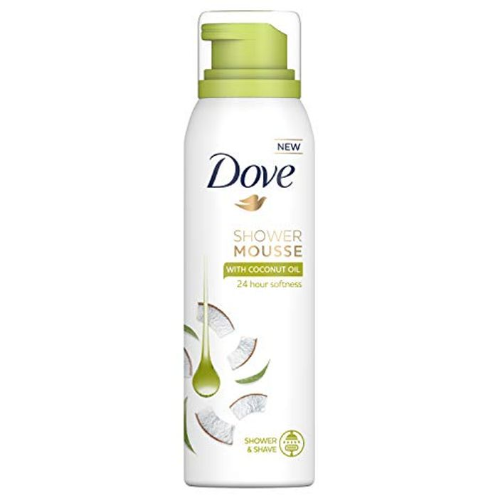 34% off Dove Shower Mousse Coconut Oil, 200 Ml, Pack of 6