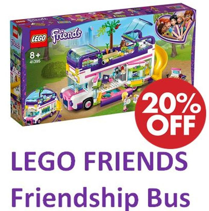 SAVE £13 - LEGO FRIENDS - Friendship Bus (41395) - FREE DELIVERY