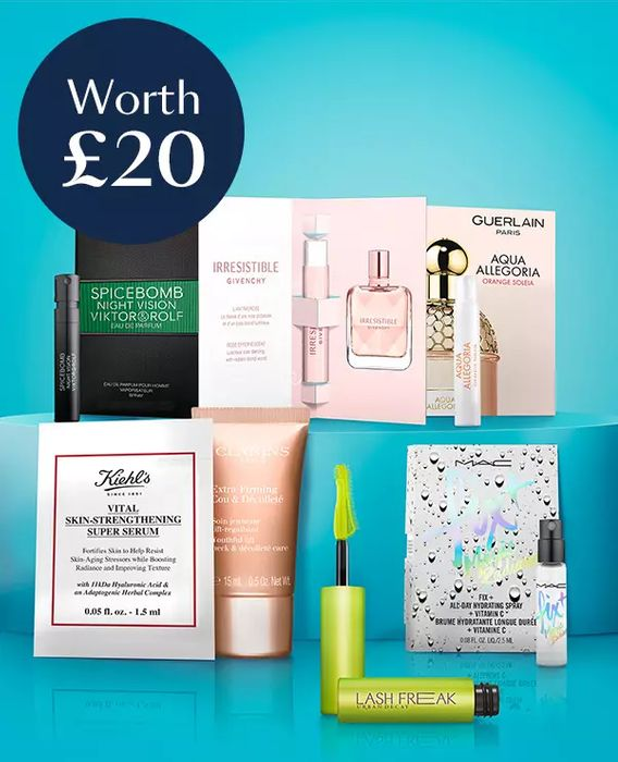 Free Beauty Goody Bag When You Spend £60 on Beauty, Skincare and Fragrance