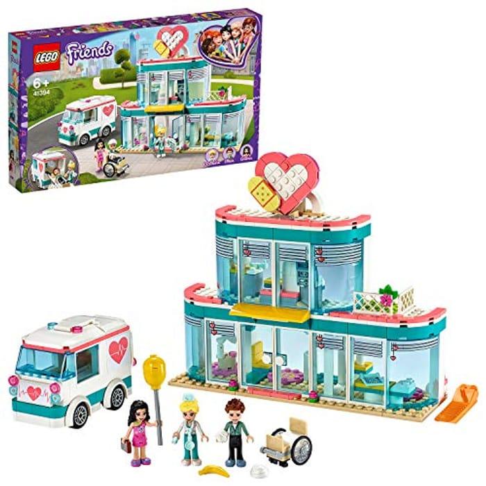 SAVE £11 + FREE DELIVERY - LEGO FRIENDS Heartlake City Hospital (41394)