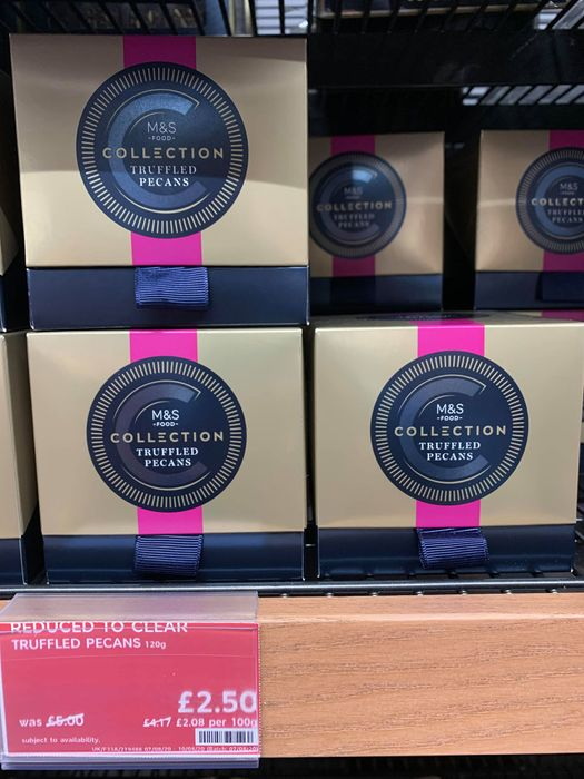 50% off M&S Collection Truffled Pecans