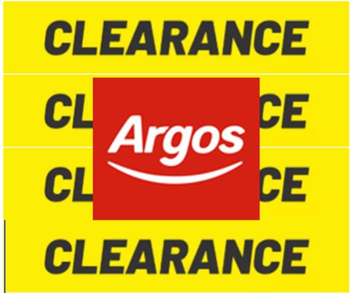 Argos Clearance Sale