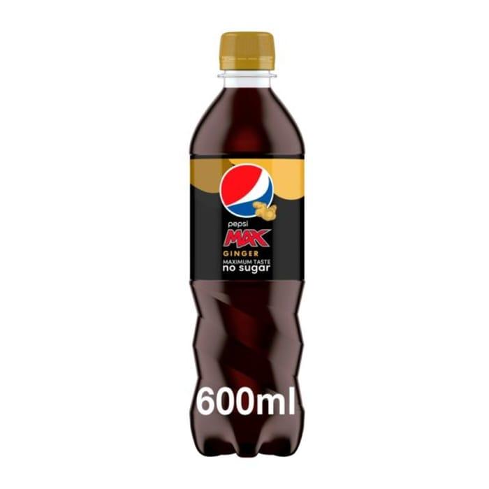 CASE of 12 X Pepsi Max Ginger