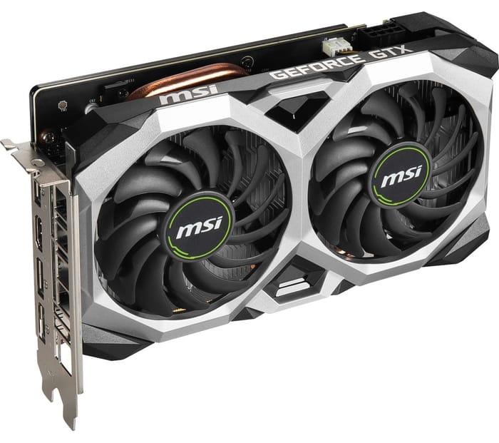 MSI GeForce GTX 1660 6 GB SUPER VENTUS Graphics Card