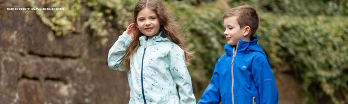 Trespass Kidswear. Raincoats, Fleeces, Shorts and More! up to 65% Off