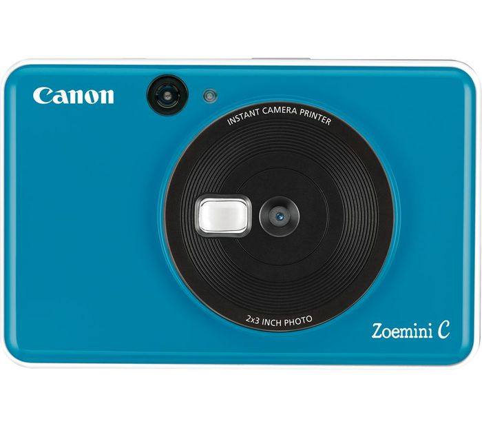 *SAVE £20* CANON Zoemini C Instant Camera - Blue/Pink