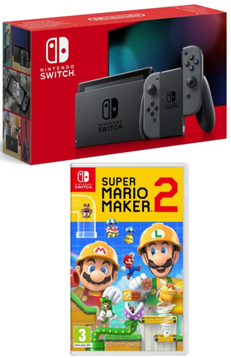 CHEAP! Nintendo Switch (Improved Battery) with Super Mario Maker 2