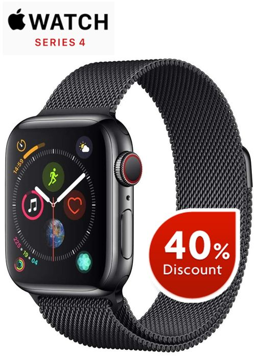 Apple Watch Series 4 (GPS + Cellular, 40mm) - Space Black