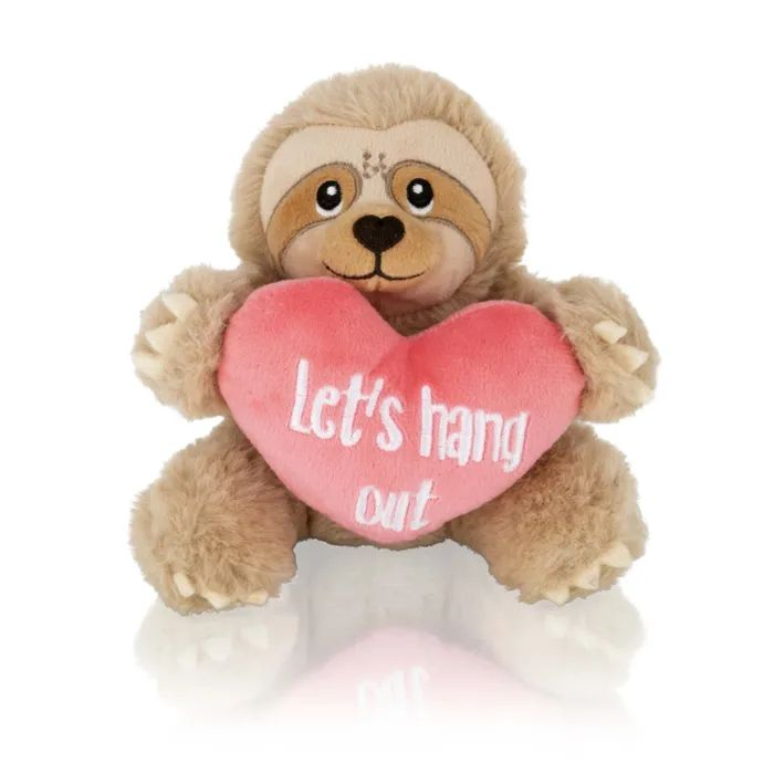 15cm Sloth with Heart HALF PRICE