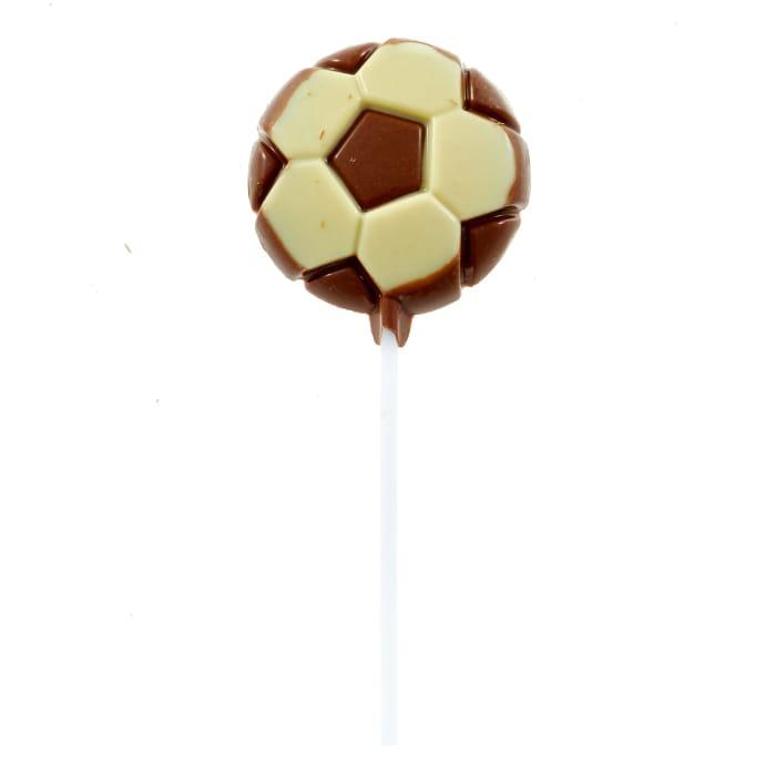 Milk Chocolate Football Lollipop