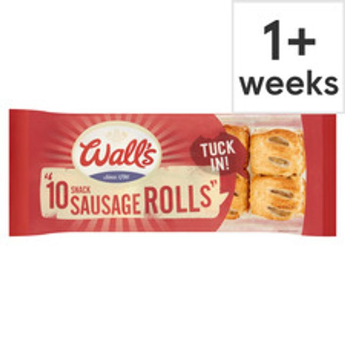Wall's 10 Snack Sausage Rolls 270G