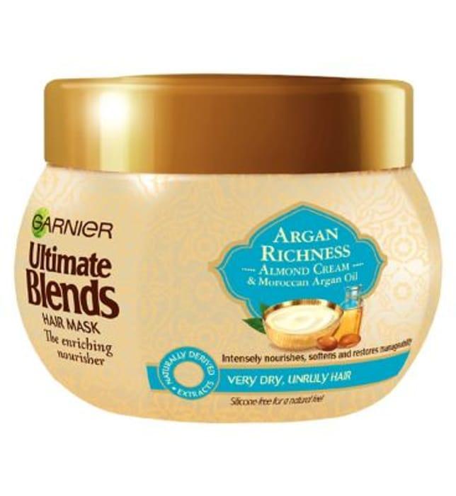 Argan Oil & Almond Cream Dry Hair Mask Treatment