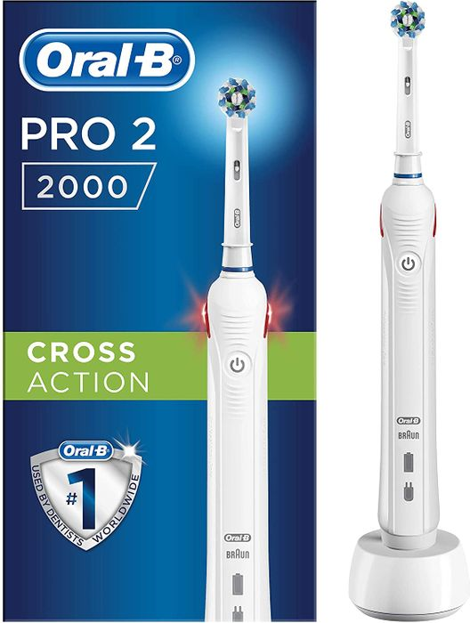 Oral-B Pro2 Cross Action 2000N Electric Rechargeable Toothbrush