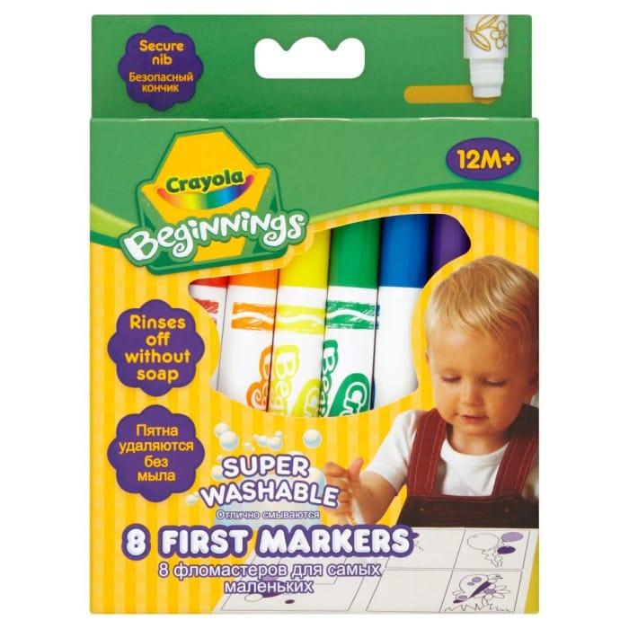 Crayola Washable Pens 8 Pack