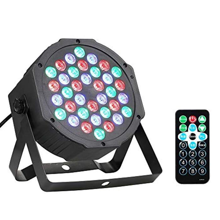 36 LED RGB Colourful Stage Light Flat Par Lamp
