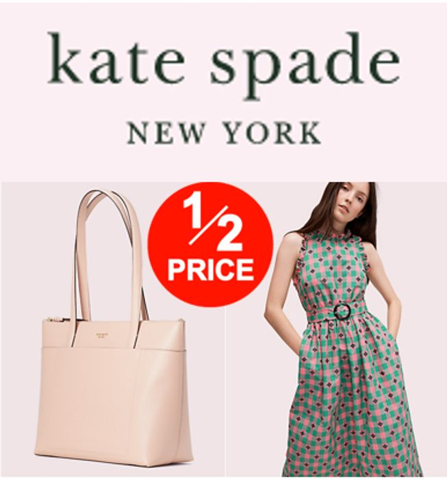 Kate Spade Sale - HALF PRICE BAGS! HALF PRICE DRESSES!