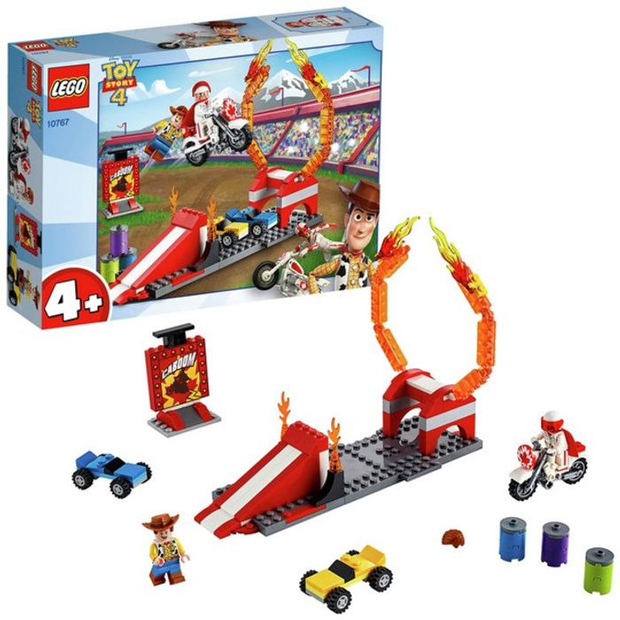 LEGO Toy Story 4: Duke Caboom's Stunt Show on Sale From £15 to £9.99