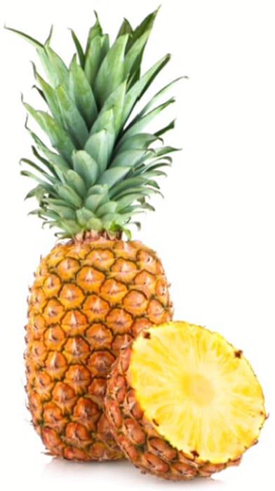 Fresh Market Specials - Pineapples, Doughnut Peaches, Green Beans & Tomatoes