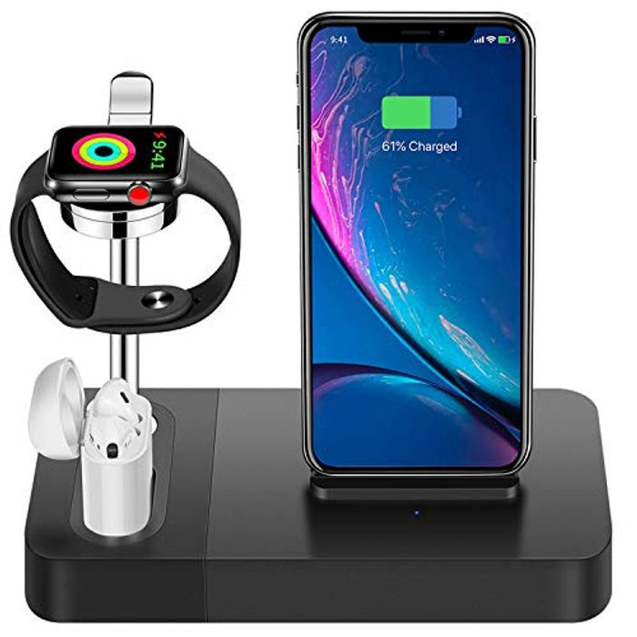 Price Drop! Wireless Charger Stand 3 in 1 (Iphone, Apple Watch & Airpods)