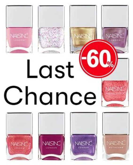 CHEAP! NAILS INC. Last Chance! up to 60% OFF