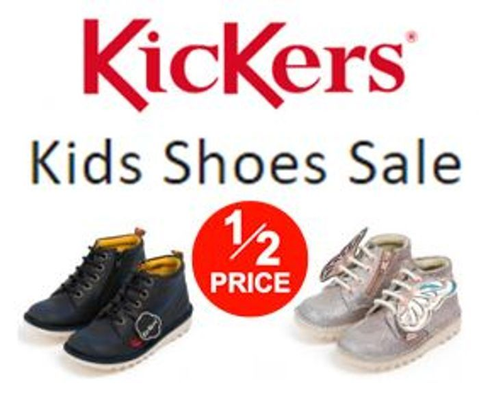 Special Offer - KICKERS - Kids Kickers Shoe Sale - 50% OFF